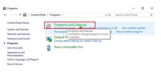 Programs-and-Feature